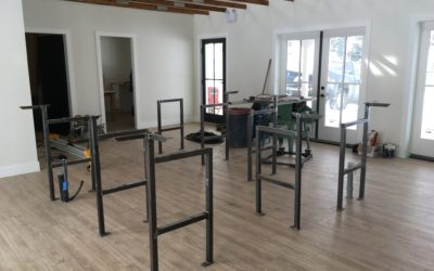 Progress is being made in tasting room….